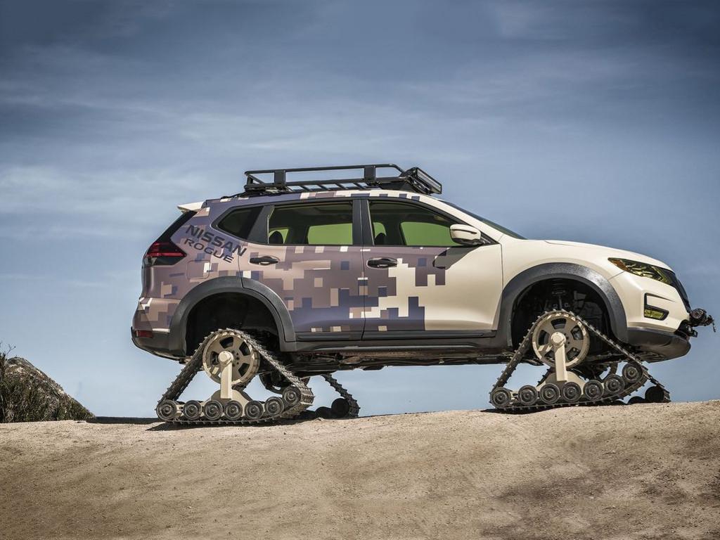 Vehicles Wallpaper: Nissan Rogue - Trail Warrior Project