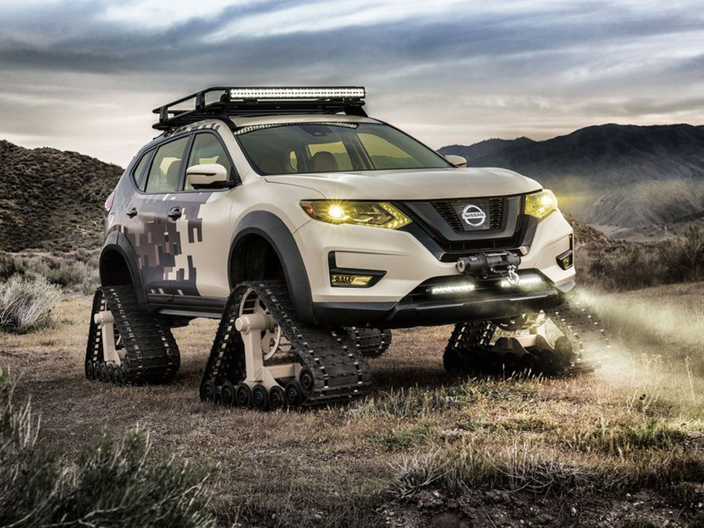 Vehicles Wallpaper: Nissan Rogue - Trail Warrior Project