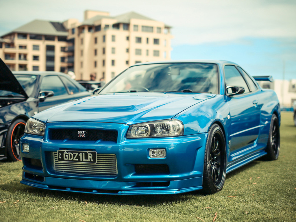 Vehicles Wallpaper: Nissan Skyline - Godzilla