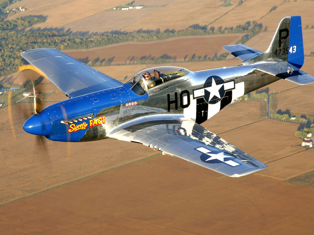 Vehicles Wallpaper: P-51 Mustang