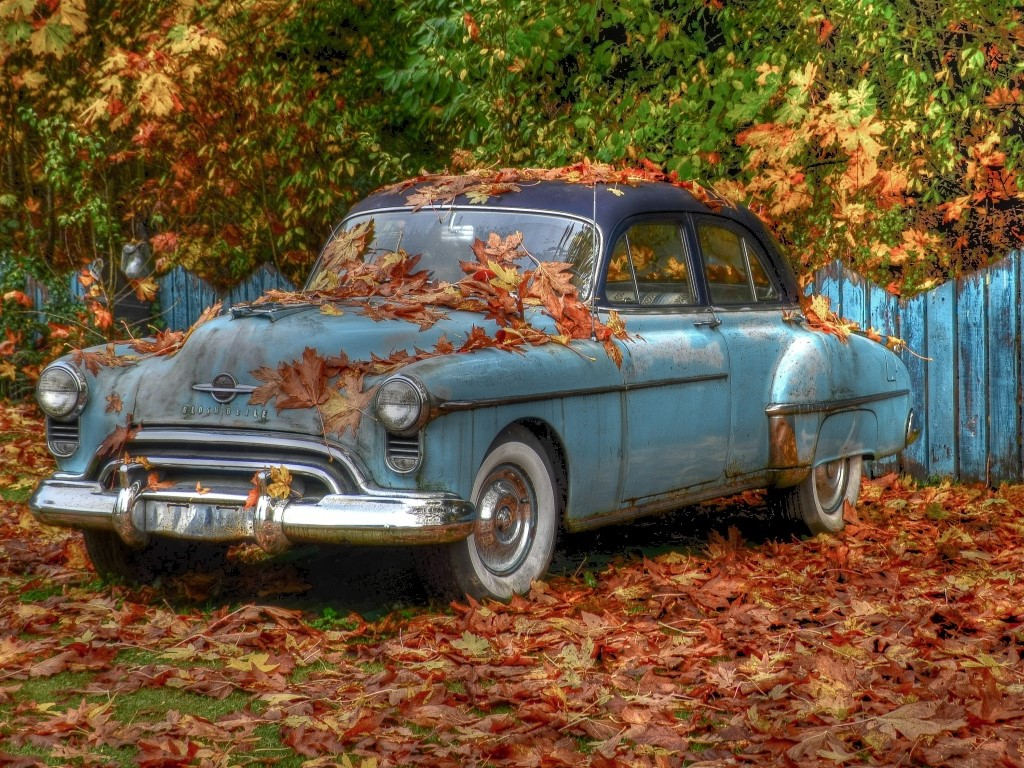Vehicles Wallpaper: Oldsmobile