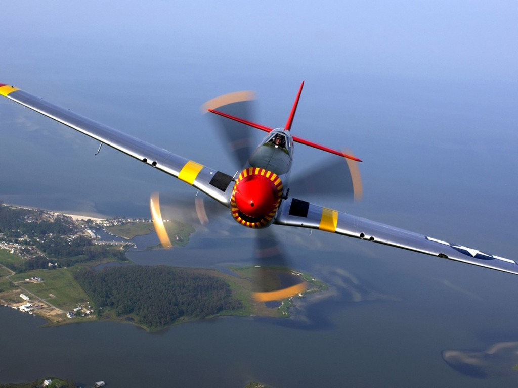 Vehicles Wallpaper: P-51