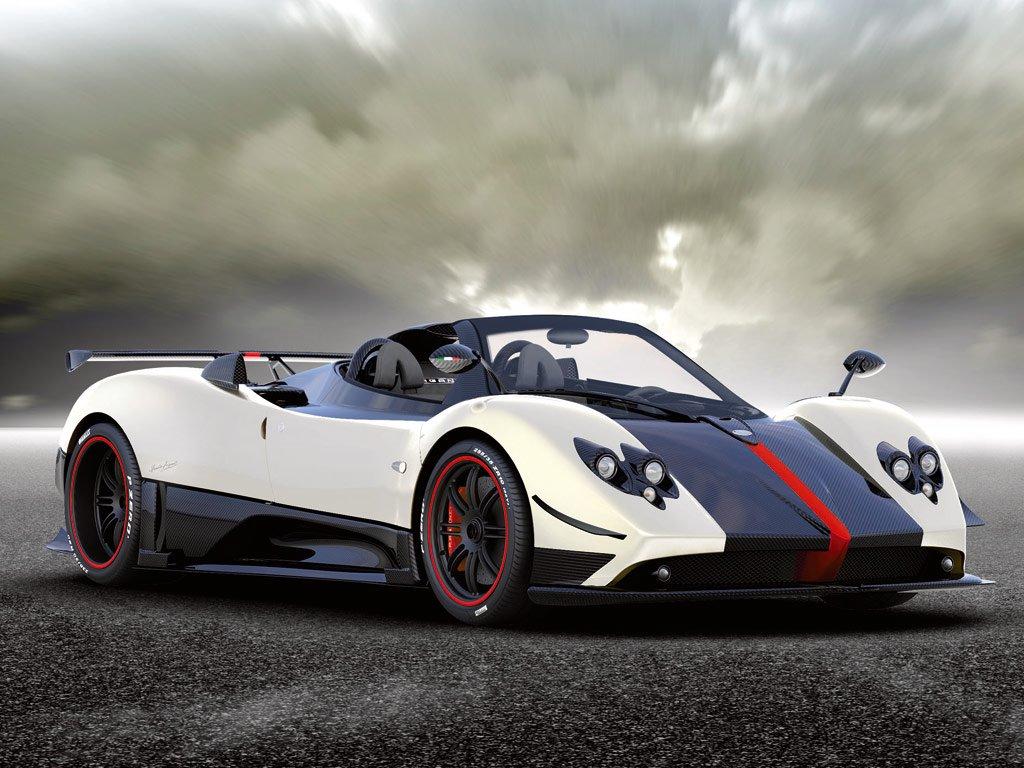 Vehicles Wallpaper: Pagani Zonda Cinque Roadster