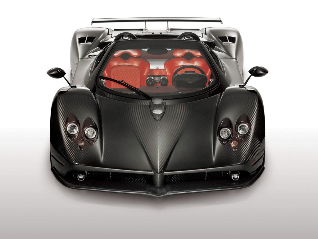 Vehicles Wallpaper: Pagani Zonda Roadster