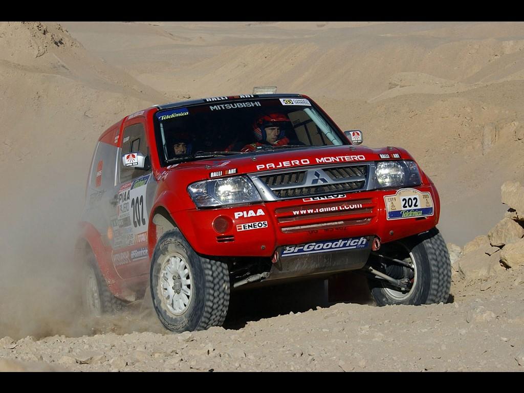 Vehicles Wallpaper: Pajero - Rally