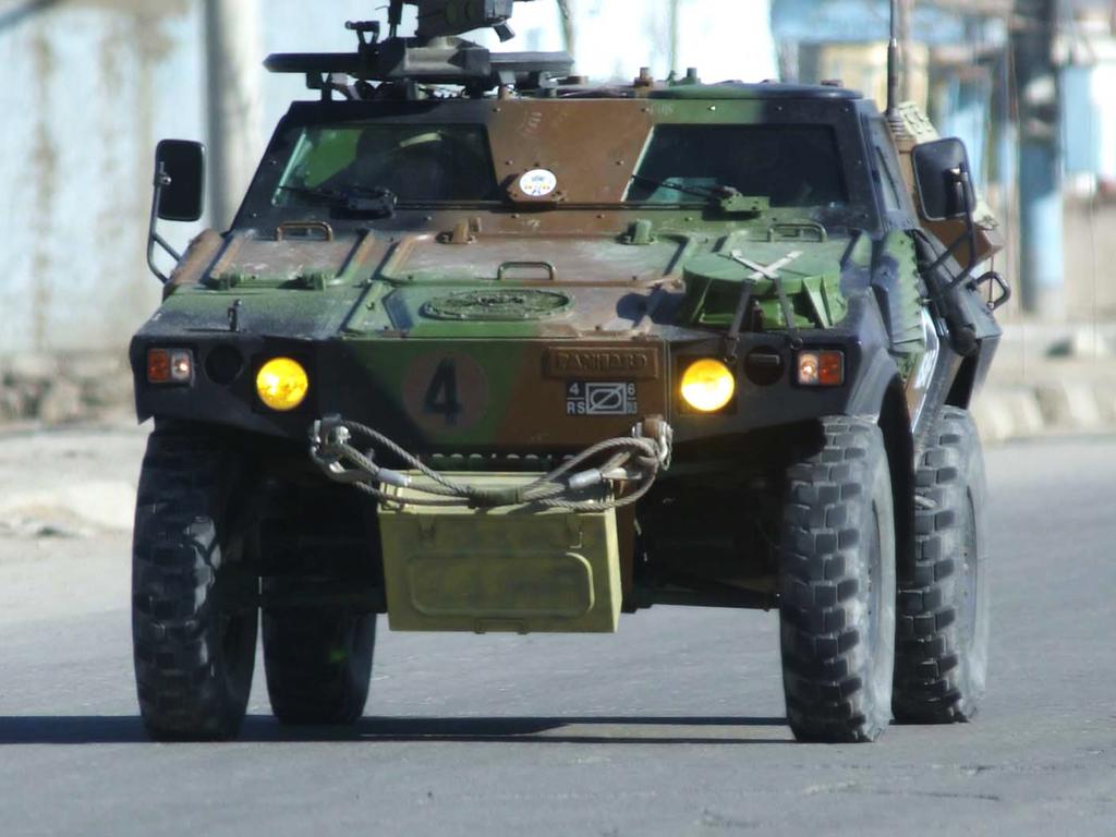Vehicles Wallpaper: Patrol Armoured Car