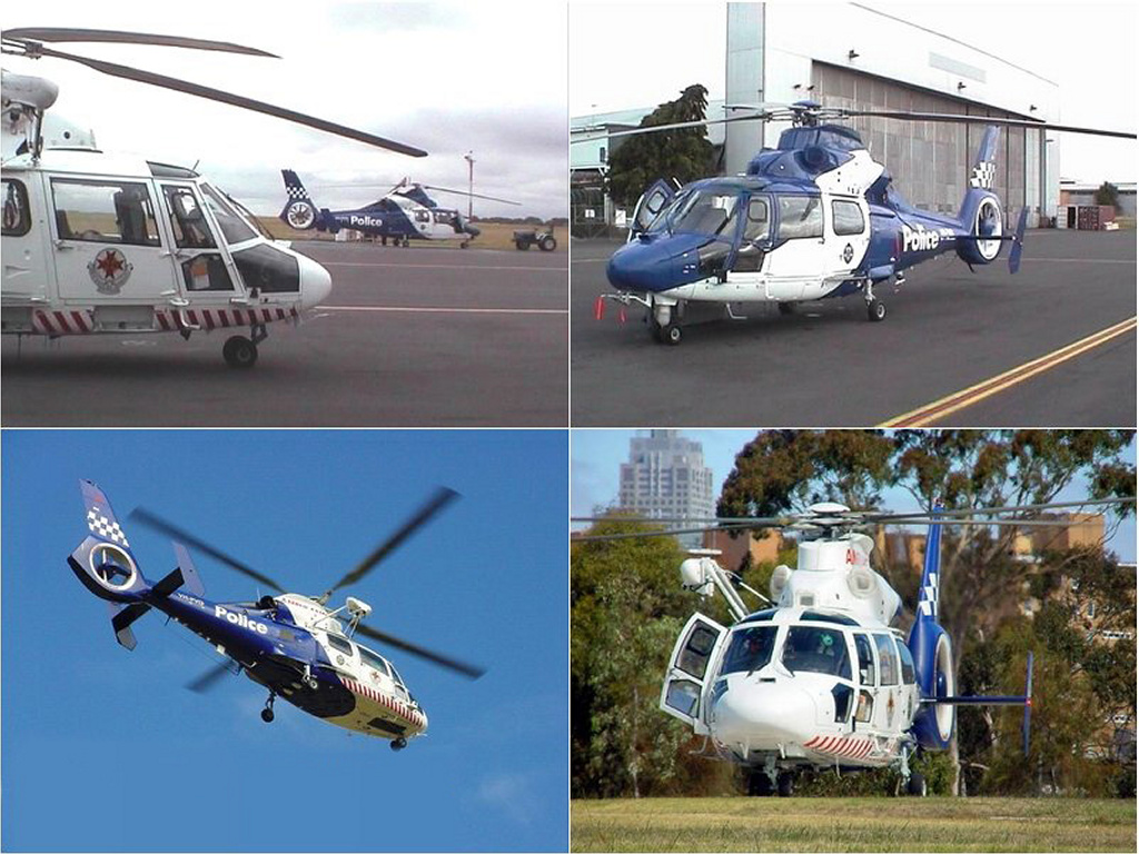 Vehicles Wallpaper: Police Helicopter