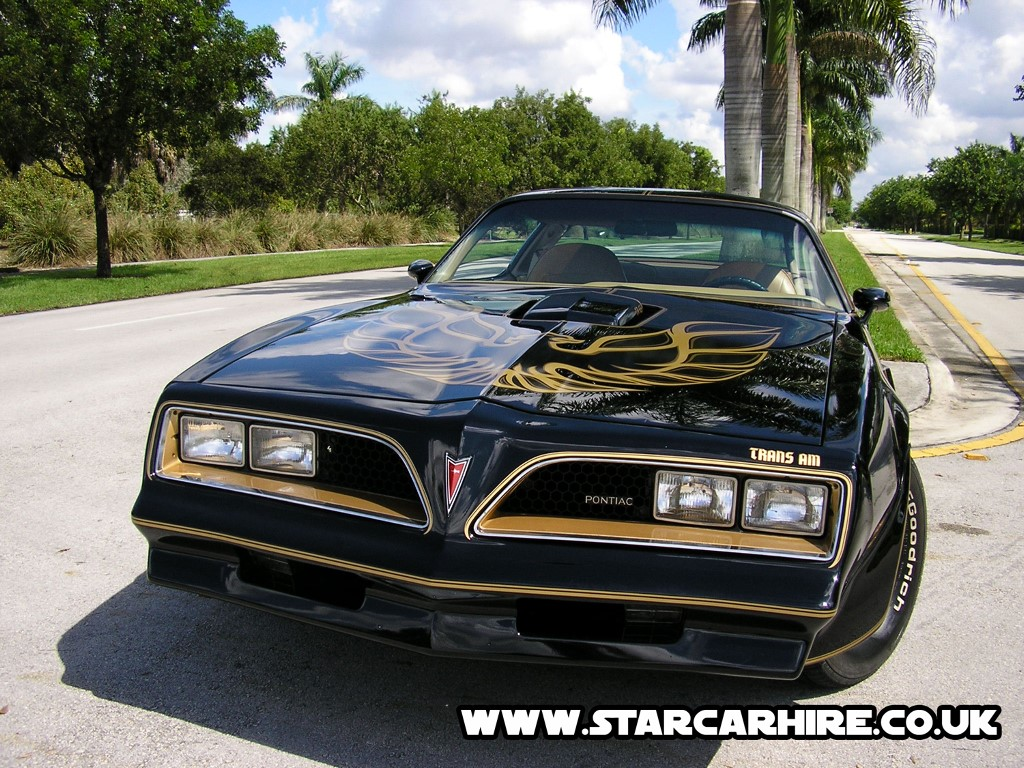 Vehicles Wallpaper: Pontiac Trans-AM (from Smokey and the Bandit)
