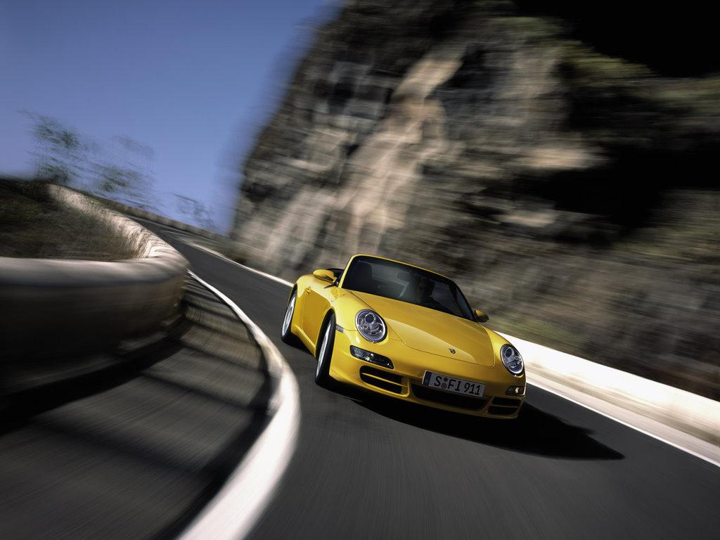 Vehicles Wallpaper: Porsche Cabriolet