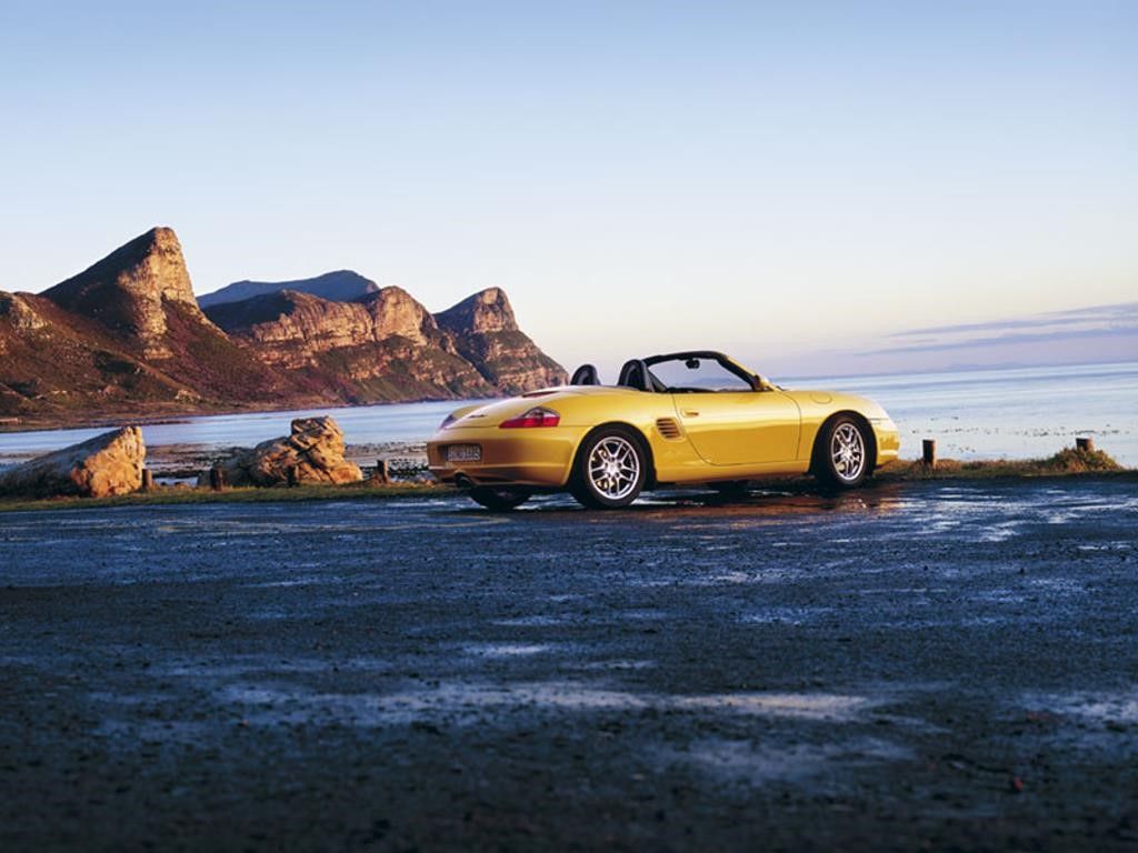 Vehicles Wallpaper: Porsche - Boxter