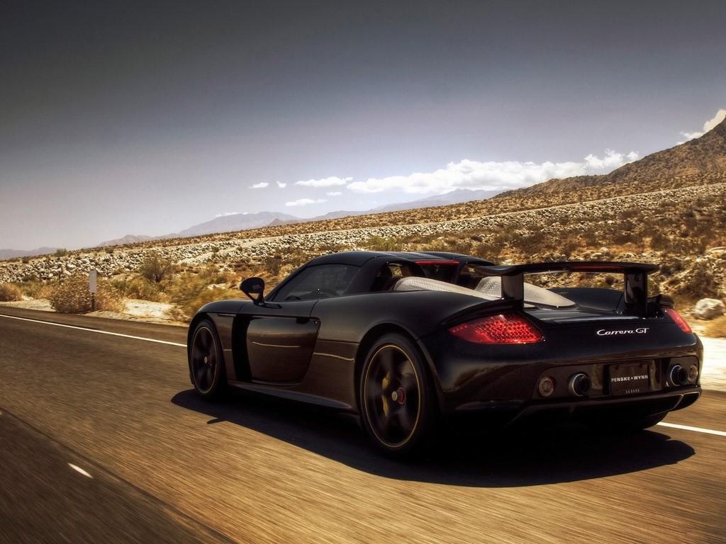 Vehicles Wallpaper: Porsche Carrera GT