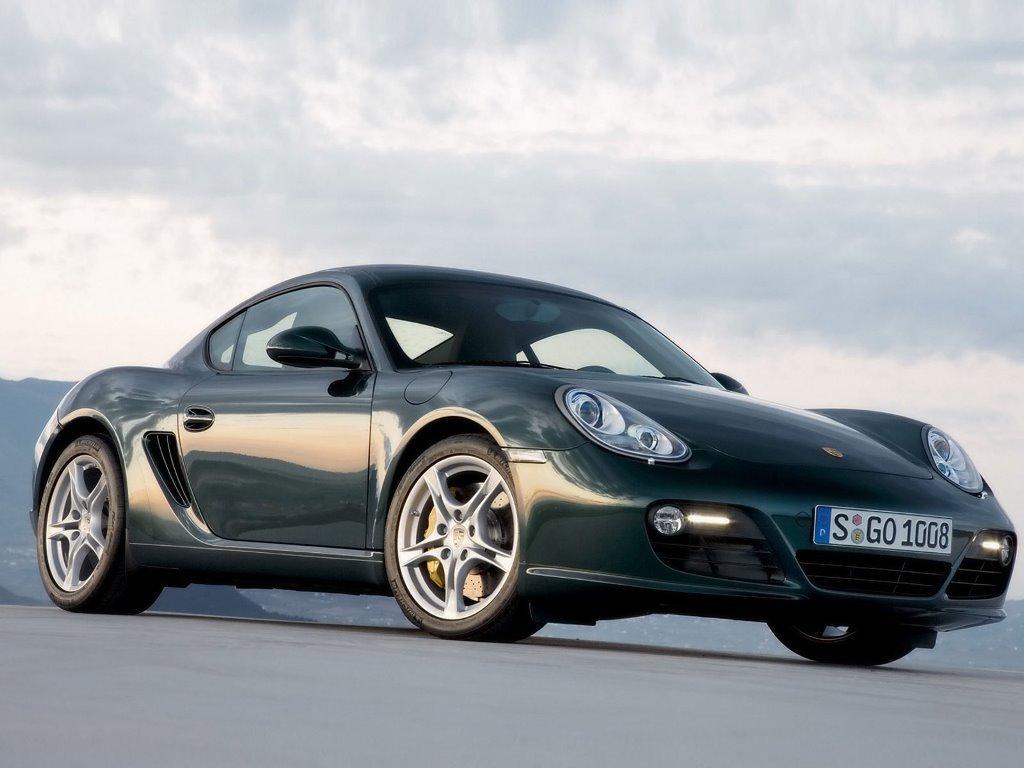 Vehicles Wallpaper: Porsche - Cayman