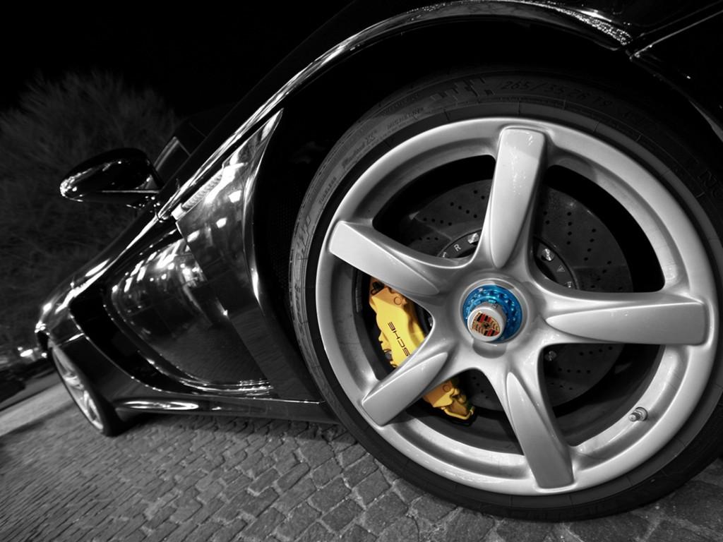Vehicles Wallpaper: Porsche - Wheel