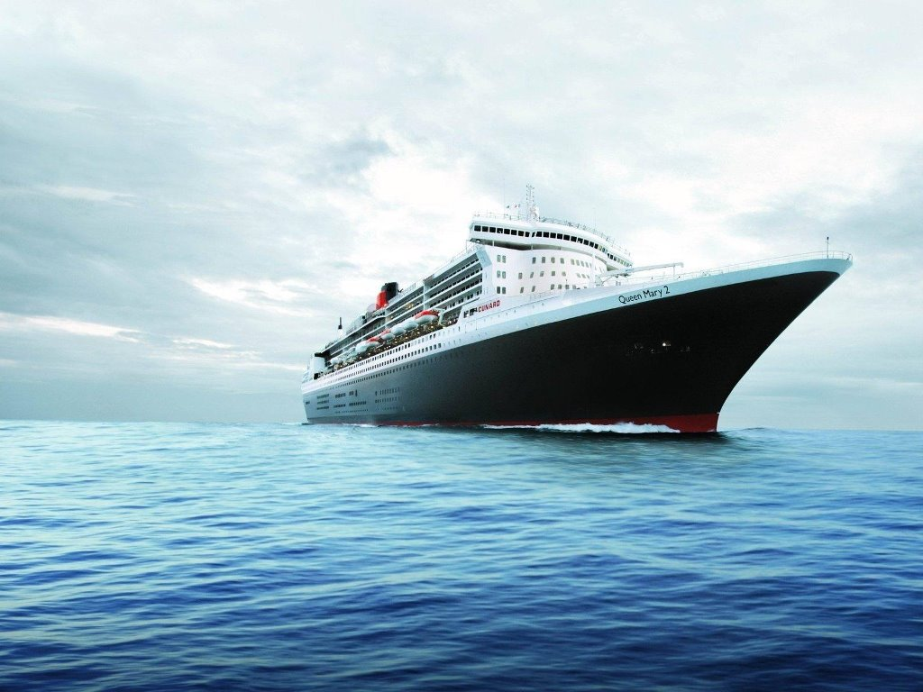 Vehicles Wallpaper: Queen Mary 2
