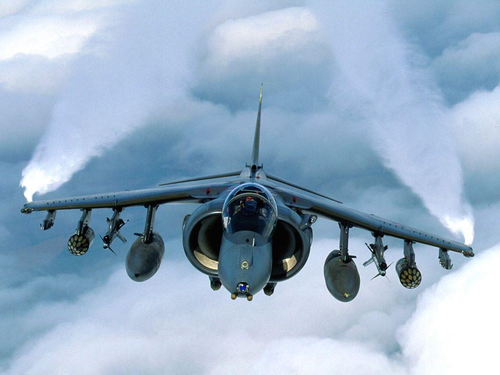 Vehicles Wallpaper: RAF - Harrier