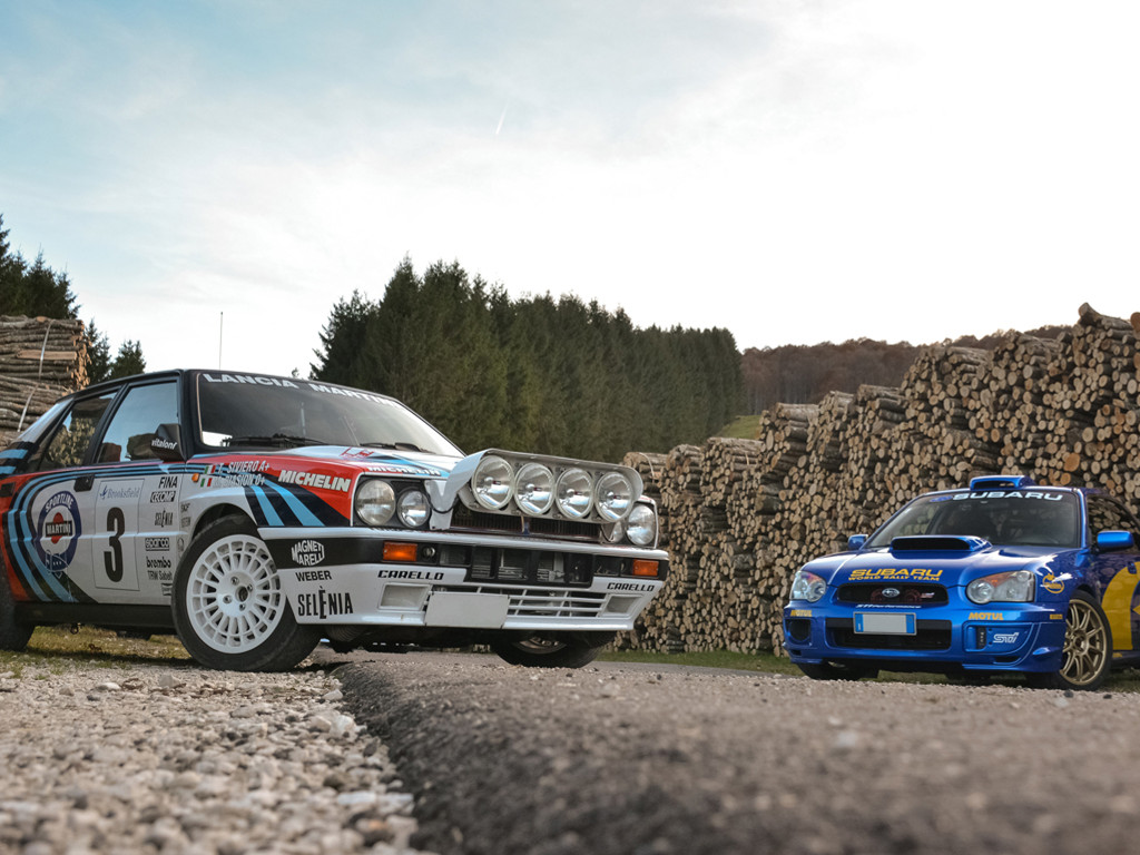 Vehicles Wallpaper: Rally Cars