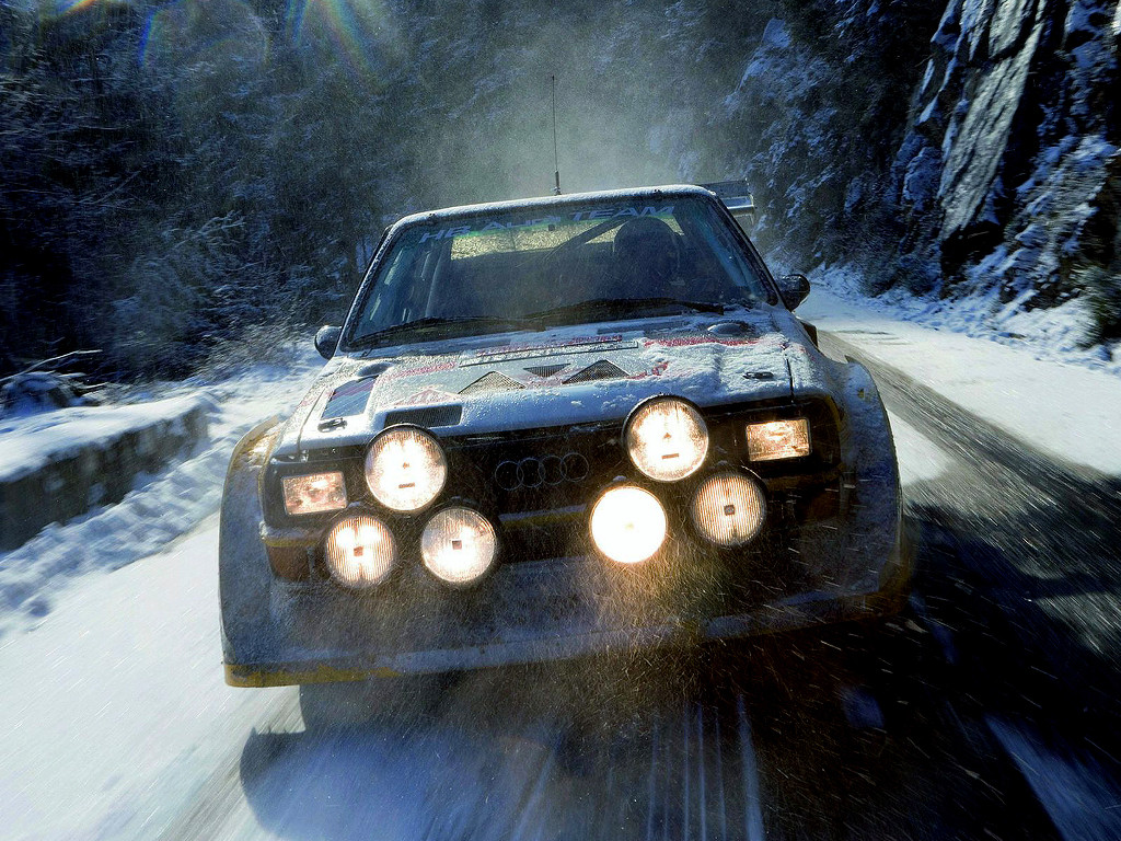 Vehicles Wallpaper: Rally - Snow