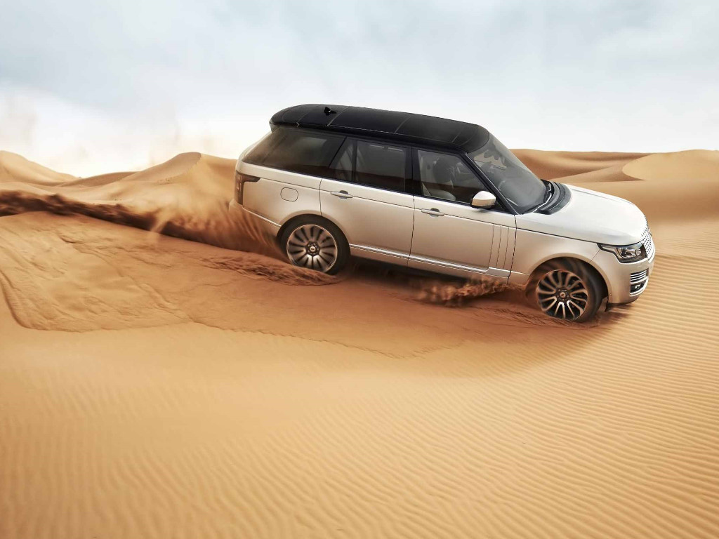 Vehicles Wallpaper: Range Rover