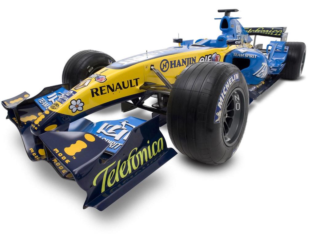 Vehicles Wallpaper: Renault - F1