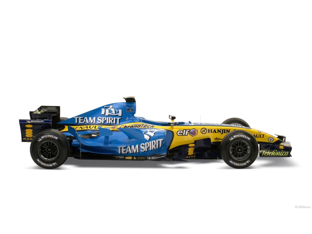 Vehicles Wallpaper: Renault F1