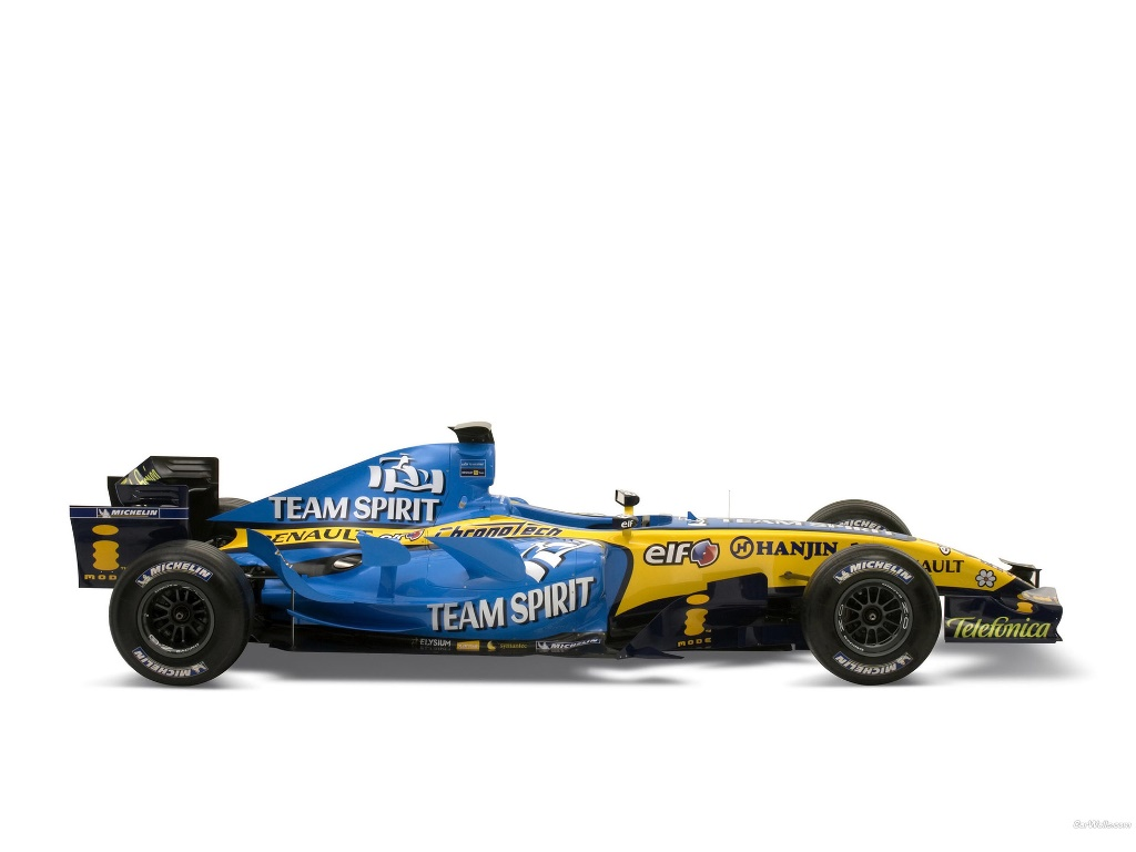Vehicles Wallpaper: Renault - F1