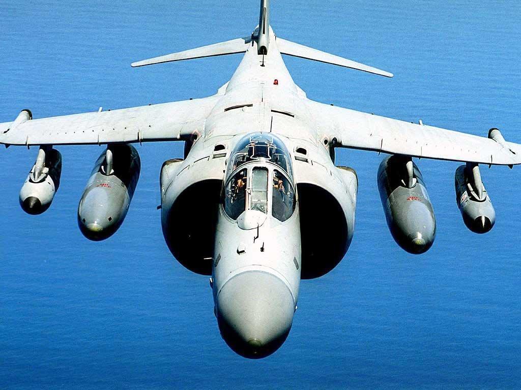 Vehicles Wallpaper: Sea Harrier