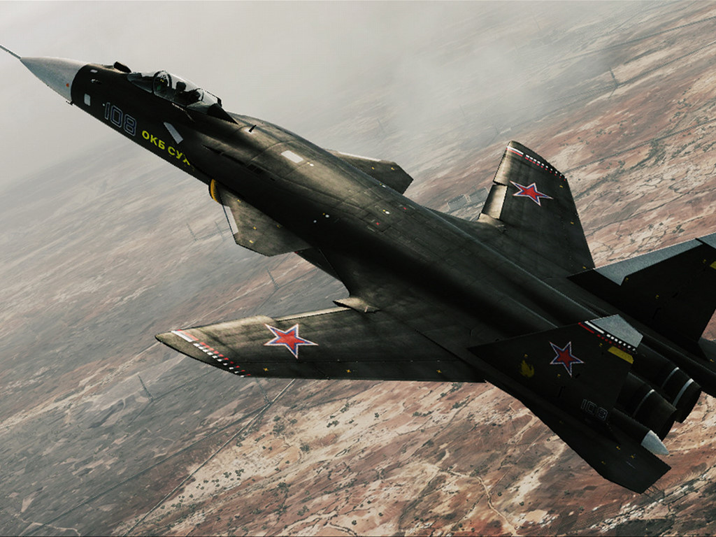Vehicles Wallpaper: Russian Fighter