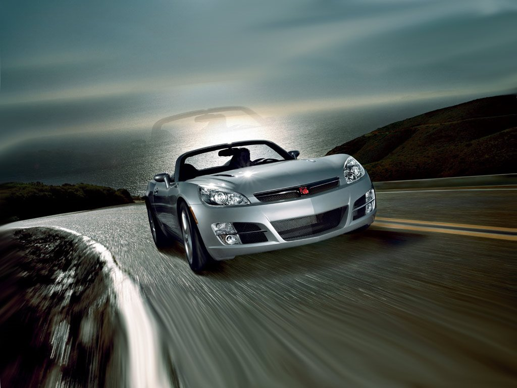 Vehicles Wallpaper: Saturn Sky Roadster