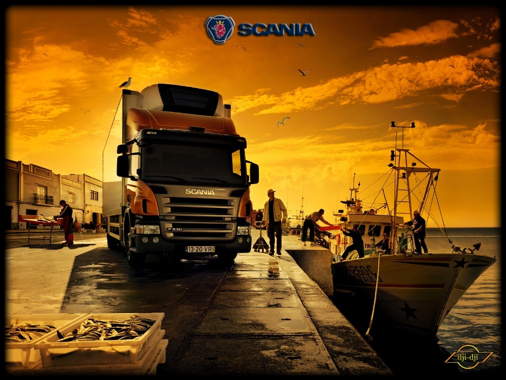 Vehicles Wallpaper: Scania