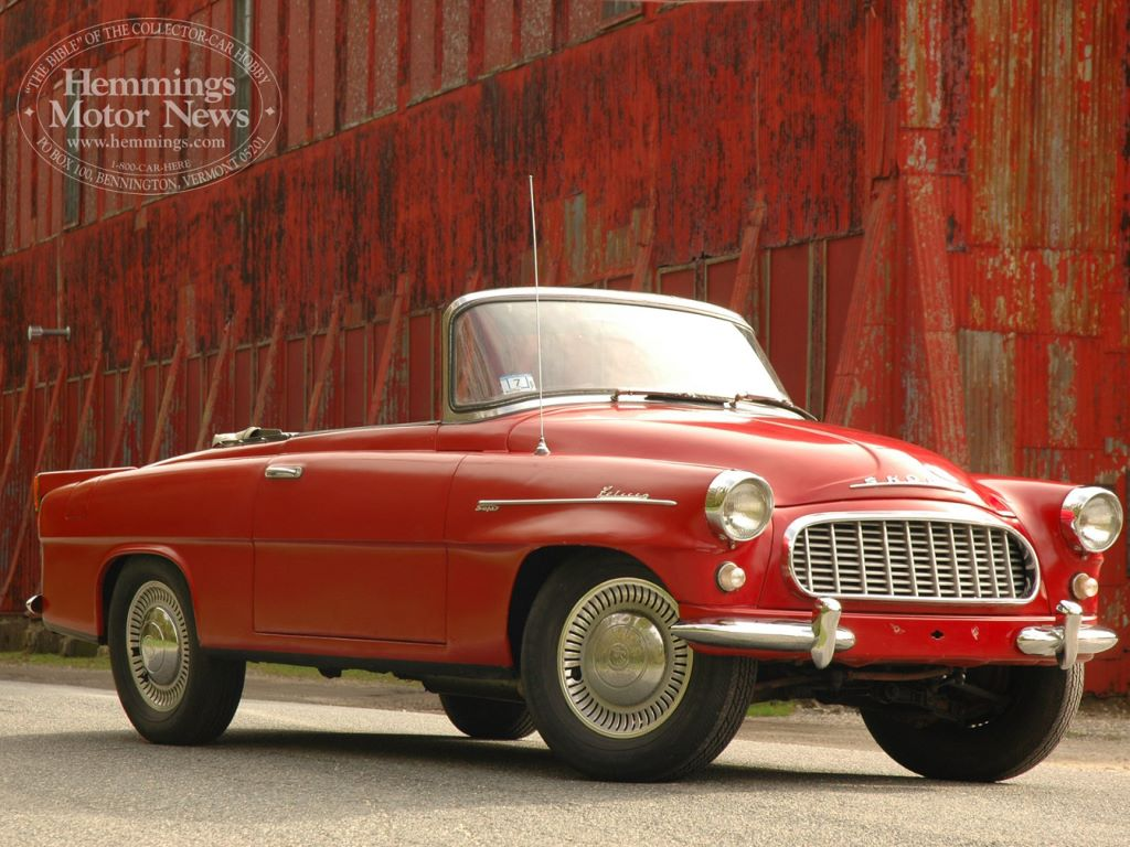 Vehicles Wallpaper: Skoda