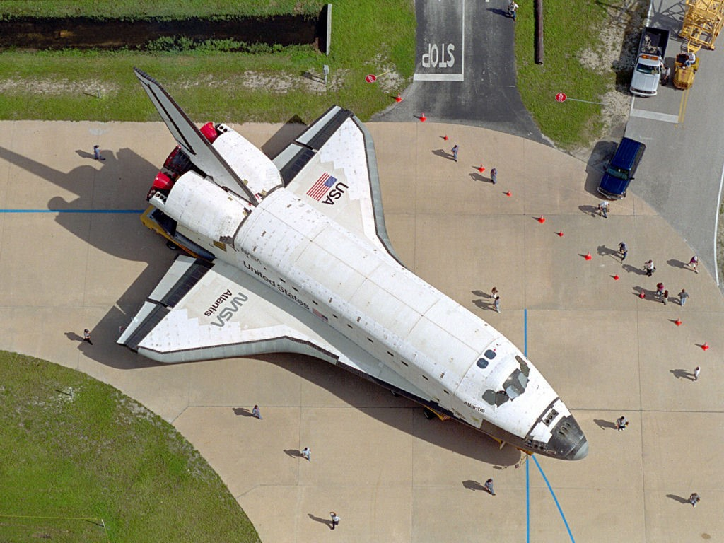 Vehicles Wallpaper: Space Shuttle