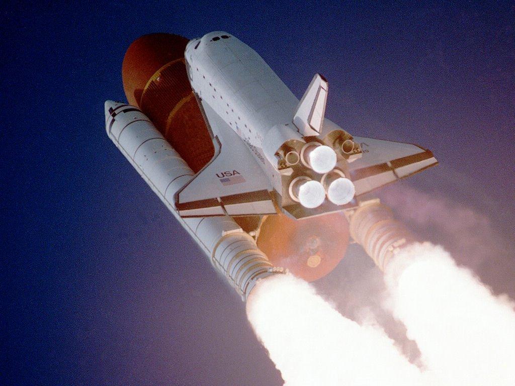 Vehicles Wallpaper: Space Shuttle