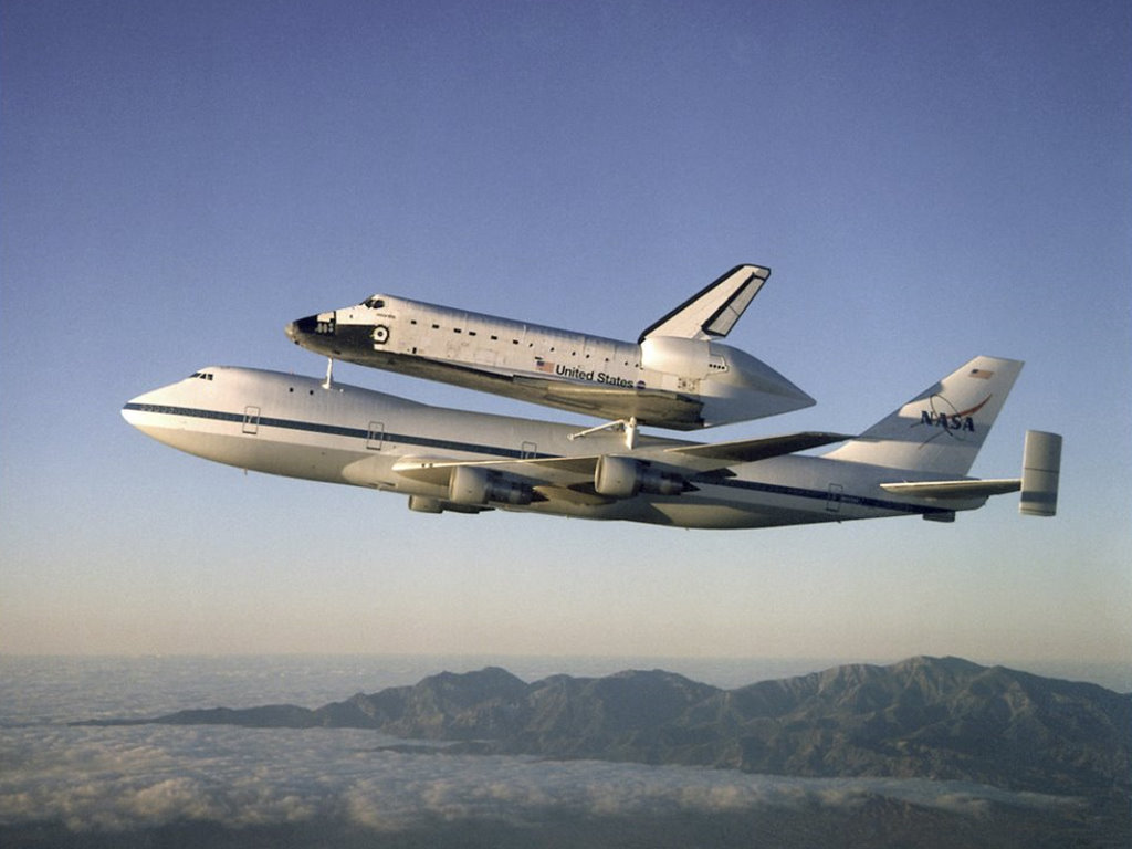 Vehicles Wallpaper: Space Shuttle Atlantis