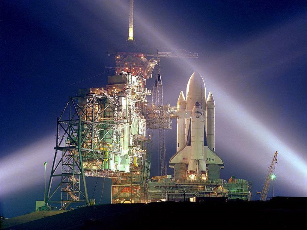 Vehicles Wallpaper: Space Shuttle - Columbia