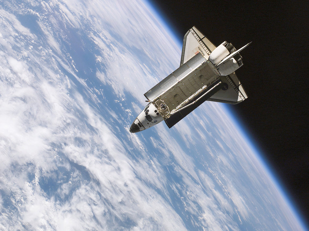 Vehicles Wallpaper: Space Shuttle - Space