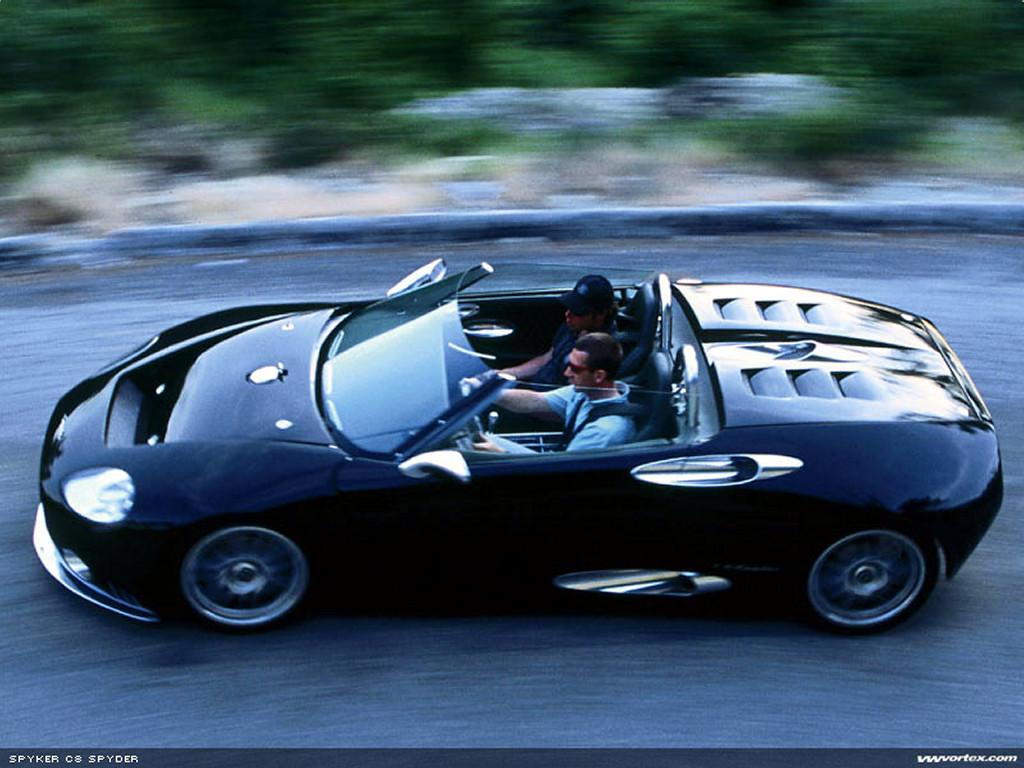 Vehicles Wallpaper: Spyker