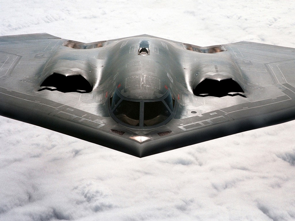 Vehicles Wallpaper: Stealth Bomber