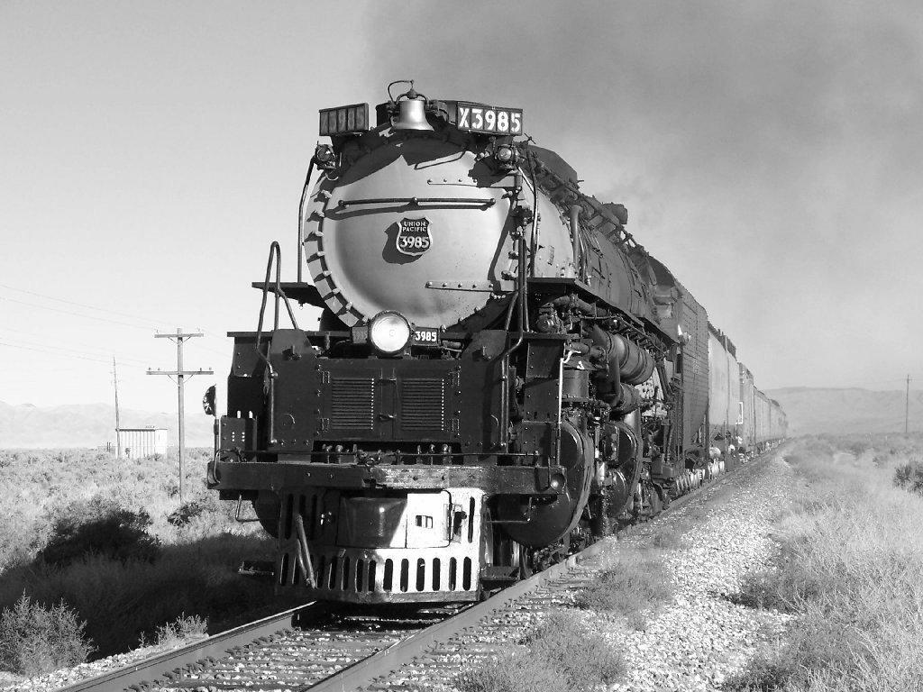 Vehicles Wallpaper: Steam Locomotive