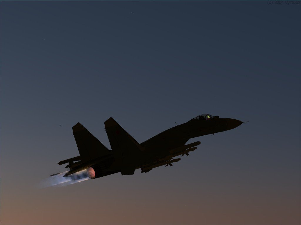 Vehicles Wallpaper: Su-27sk