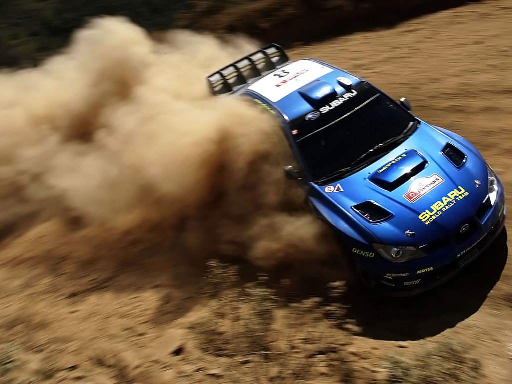 Vehicles Wallpaper: Subaru - Rally