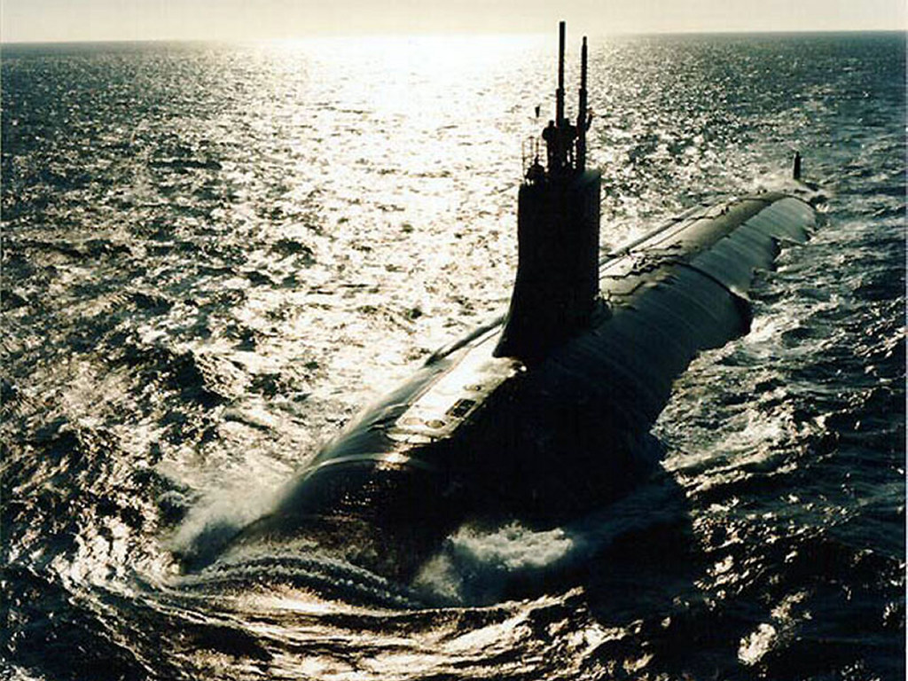 Vehicles Wallpaper: Submarine