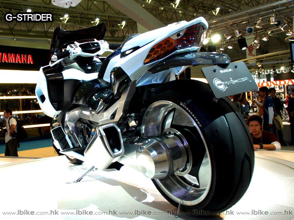 Vehicles Wallpaper: Suzuki G-Strider