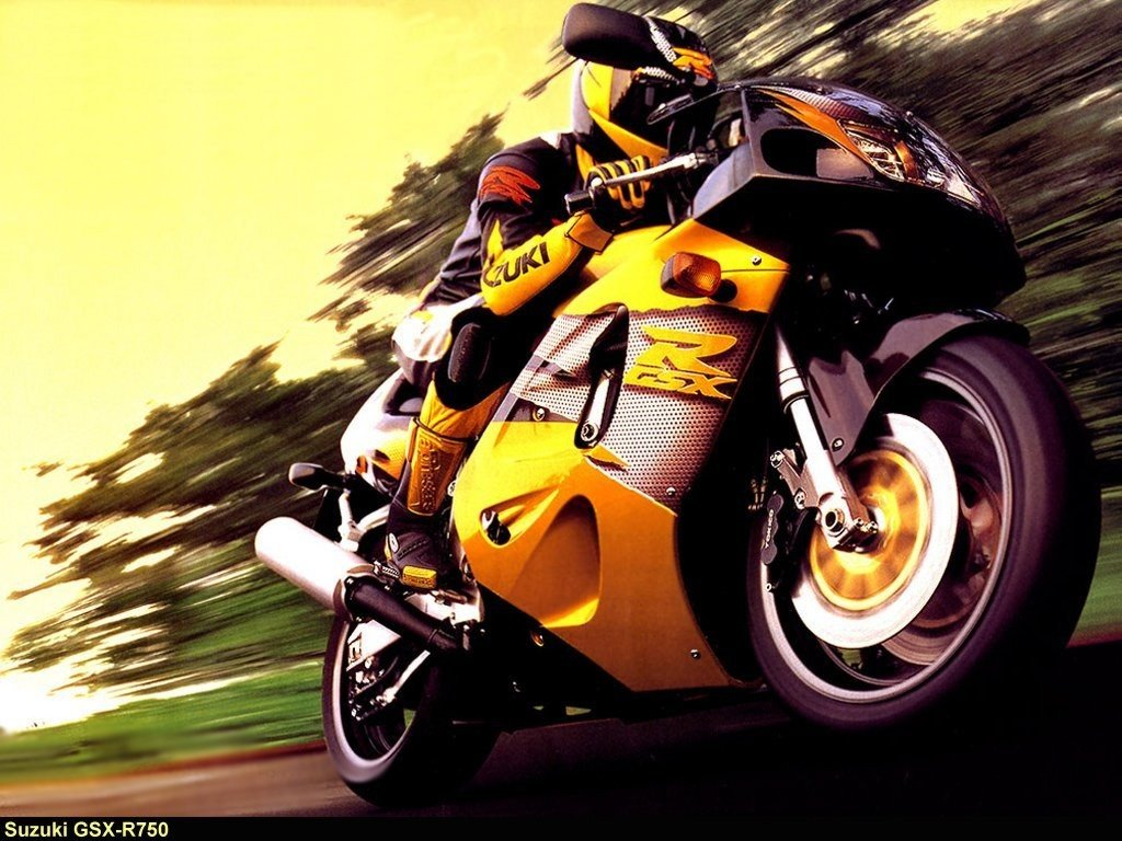 Vehicles Wallpaper: Suzuki GSX-R750