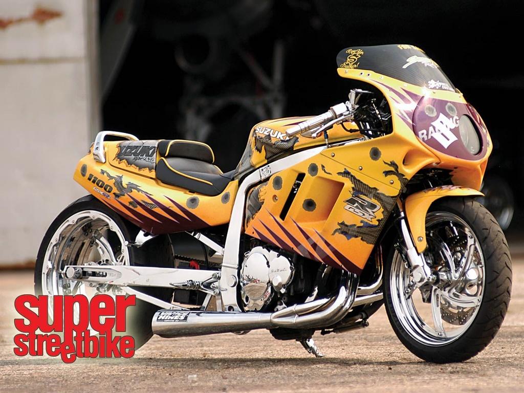 Vehicles Wallpaper: Suzuki - Super Street Bike