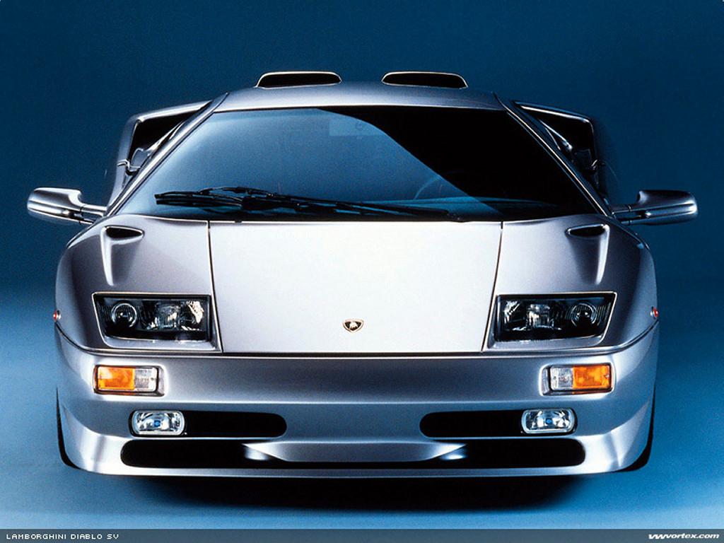 Vehicles Wallpaper: Lamborghini Diablo SV