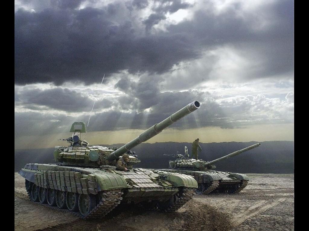Vehicles Wallpaper: T-80