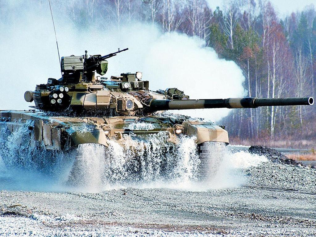 Vehicles Wallpaper: T-90