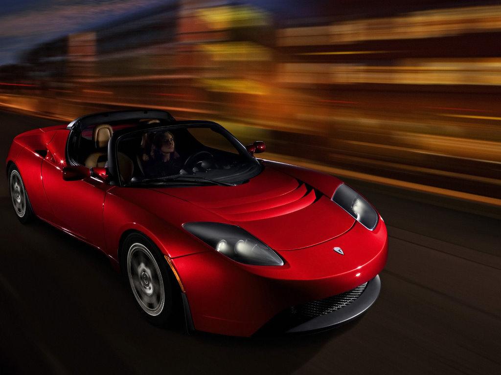 Vehicles Wallpaper: Tesla Roadster