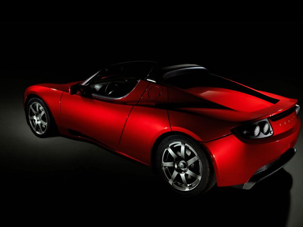 Vehicles Wallpaper: Tesla Roadster