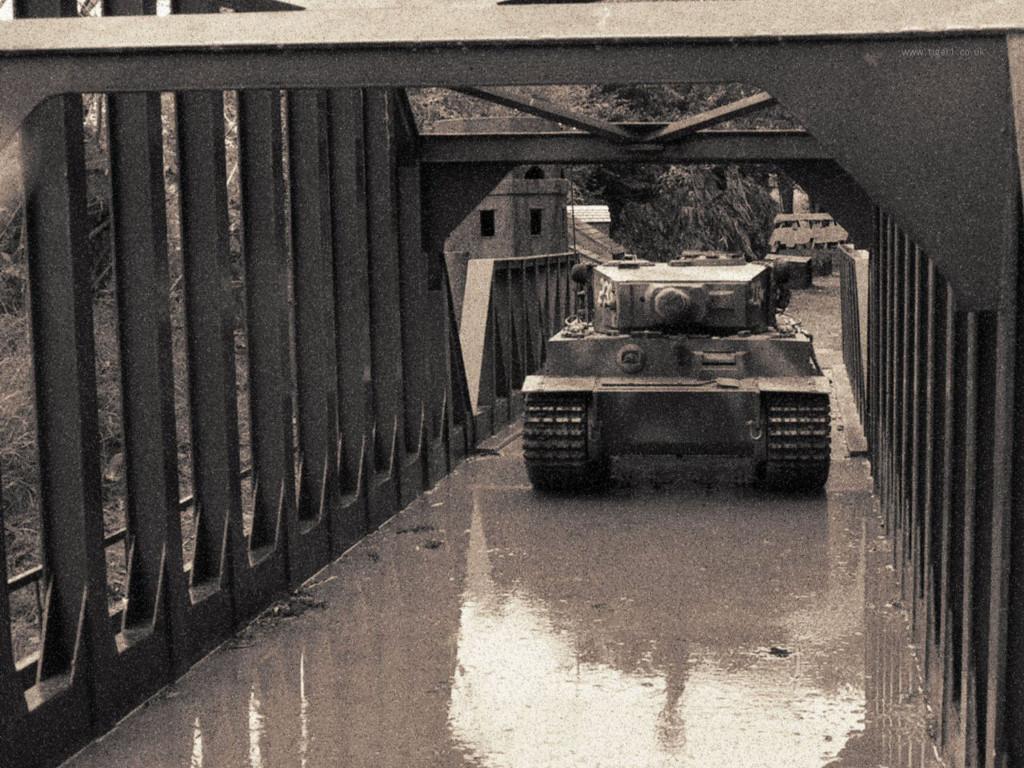 Vehicles Wallpaper: Tiger I